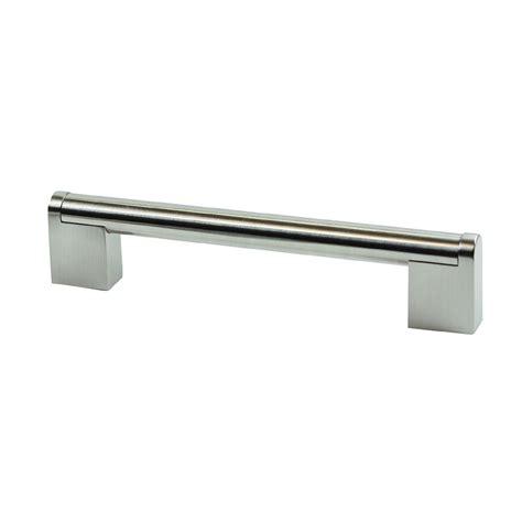Bunnings Cabinet Handles sylvan cambridge cabinet handle 160mm satin nickel plated