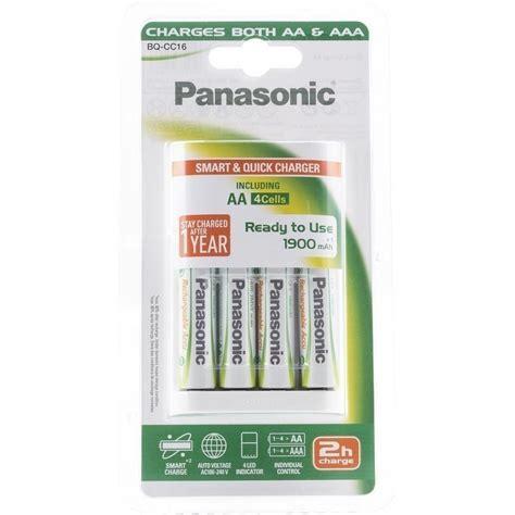 panasonic battery charger panasonic battery charger bq cc16 4x1900 universal