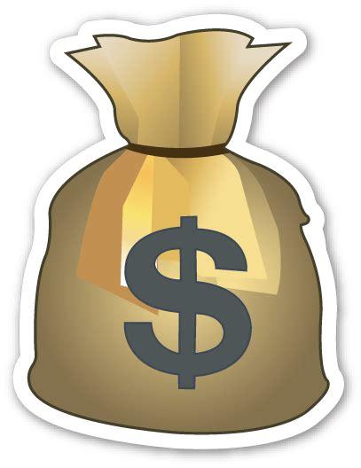 Pouch Kosmetik Transparant 3 In 1 pics for gt money bag emoji transparent