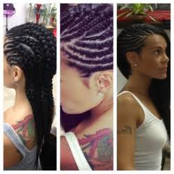 fishbone braids hairstyles cornrows love the styles wish i could see more of the back views