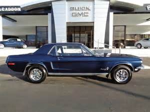 nicely restored 1968 mustang coupe for photos