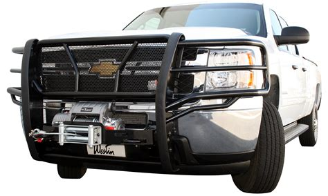 Brush Guards westin hdx winch mount grille guards heavy duty truck