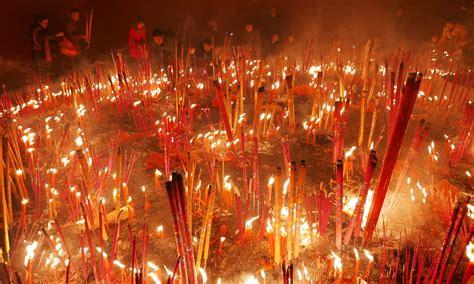 new year money burning new year celebrations world