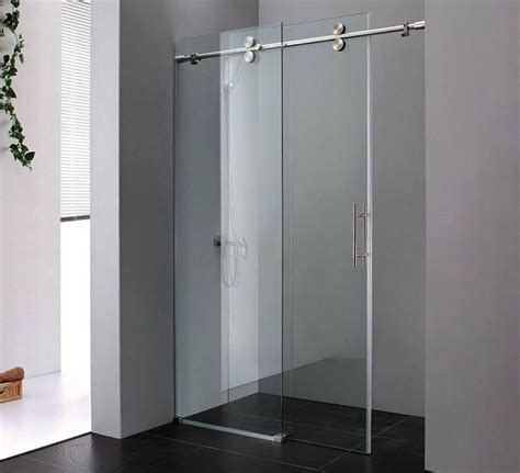 Bathroom Glass Sliding Doors Best 25 Frameless Sliding Shower Doors Ideas On Frameless Shower Doors Shower Door