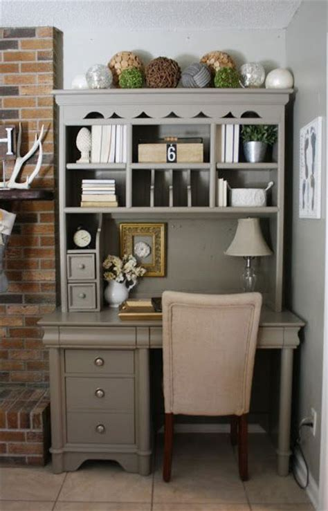 better homes and gardens desk with hutch painted furniture how to hutch desk gardens paint