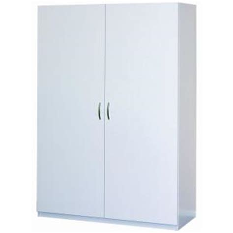 wardrobe cabinet lowes closetmaid 48 in multi purpose wardrobe cabinet in white