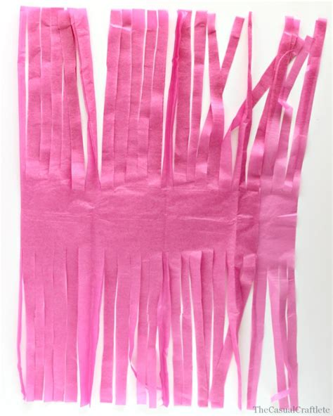 How To Make A Tissue Paper Tassel - diy tissue paper tassels