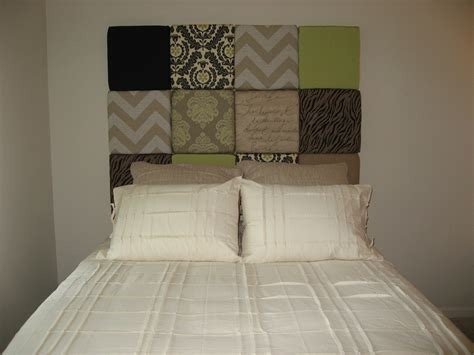 how to hang a headboard on a wall multi fabric paneled headboard 187 in touch finishing