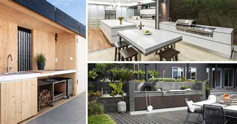 custom outdoor kitchen ideas in modern styles outdoor kitchen design viking outdoor kitchen designboom defrancesco silva imagines glass house with