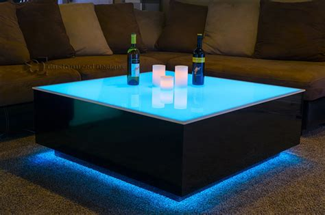 coffee table with led lights led coffee table design images photos pictures