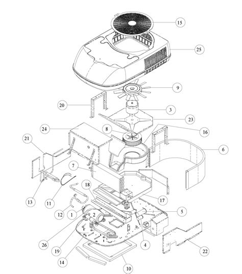 coleman mach 3 parts diagram rv ducted air conditioning
