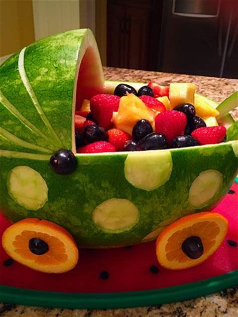 Baby Shower Fruit Carving by Best 25 Watermelon Carving Ideas On