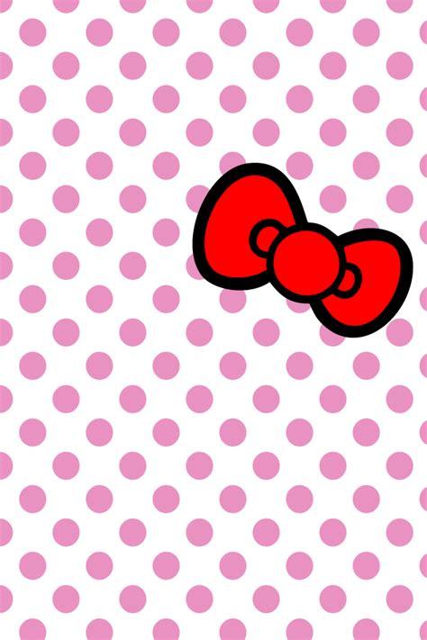 hello kitty red bow wallpaper hellokitty bow iphone wallpaper by will yen on deviantart