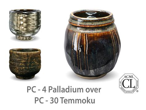 amaco pottery amaco potter s choice layered glazes pc 30 temmoku and pc