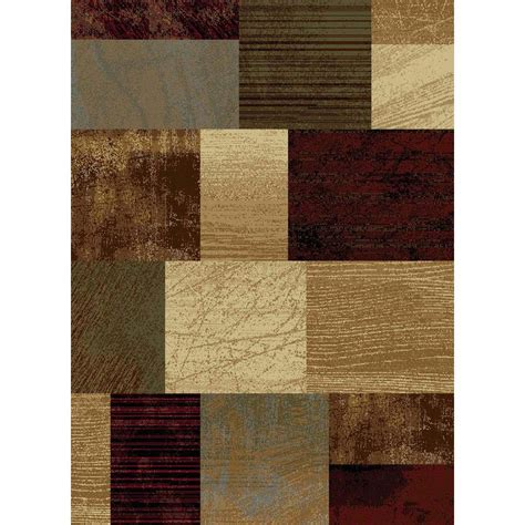 Tayse Rugs Elegance Multi 7 Ft 6 In X 9 Ft 10 In Rugs Home Depot