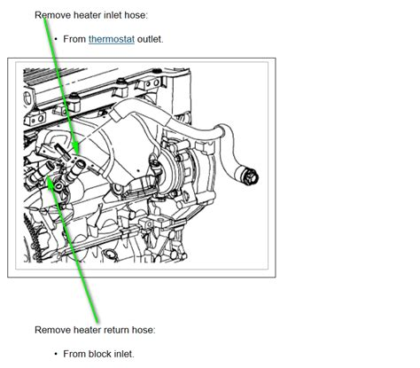 saturn l series i need the coolant line diagram from the engine