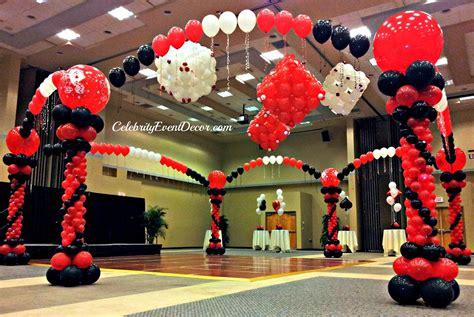 casino themed decorations event decor banquet llc