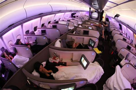 planes with beds virgin atlantic sleep suit the best way to endure a