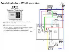 honeywellct70 wire diagrams easy simple detail electric thermostat wiring diagram free sle