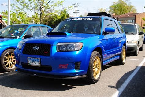 modded subaru forester initialblue 2007 subaru forester specs photos