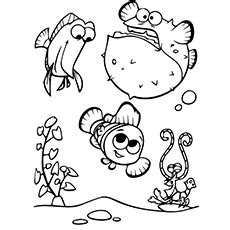 bloat finding nemo coloring page 40 finding nemo coloring pages ᗑ free printables ga58