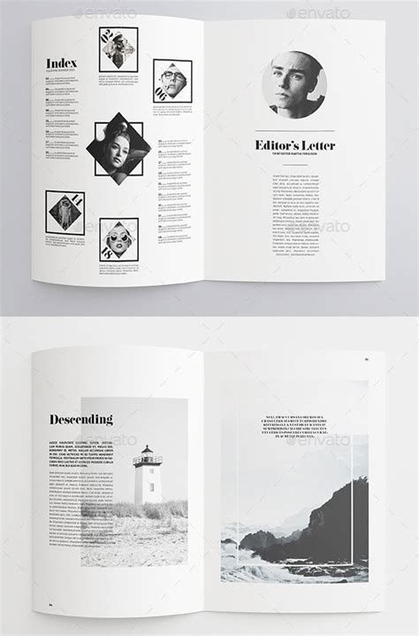 35 Best Magazine Template Designs Web Graphic Design Bashooka Best Magazine Template