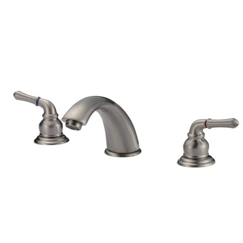 Modern Faucets For Bathroom by Knightsbridge Widespread Contemporary Bathroom Faucet
