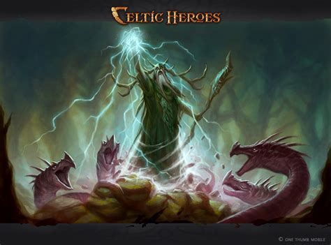 new concept art druid celtic heroes