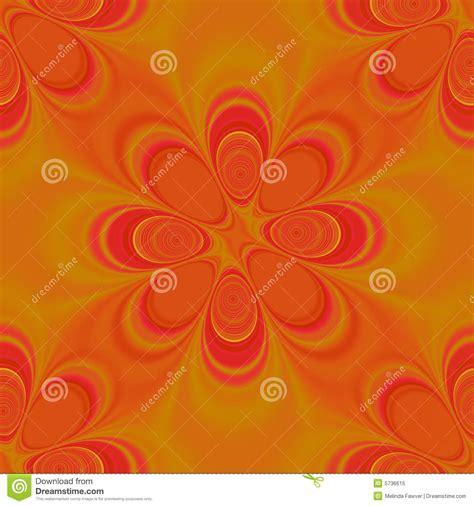 seamless orange pattern orange groovy seamless pattern royalty free stock photo