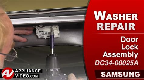 samsung front load washer door will not lock samsung wa456drhds washer will not lock door lock