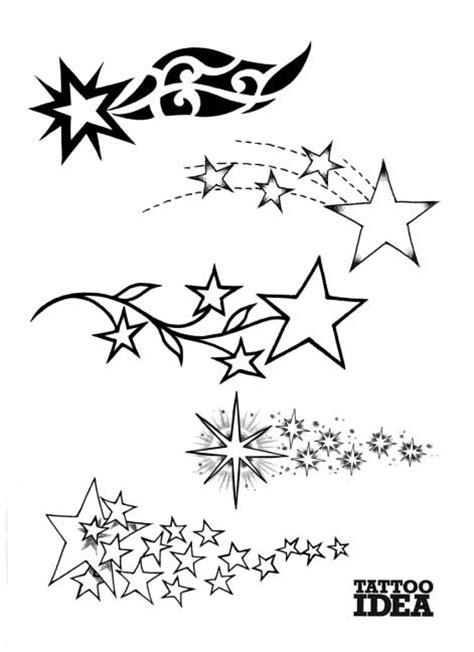 tatuaggi stelle sfumate con lettere tatuaggi di stelle bellissimi schemi immagini significato