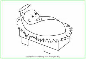 preschool coloring pages of baby jesus baby jesus colouring page