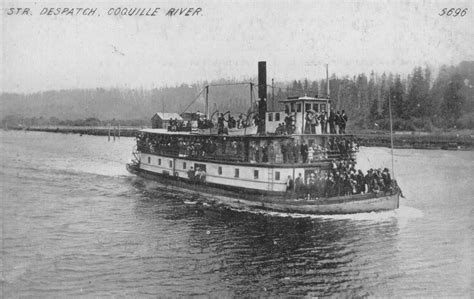 boat builder in spanish file steamer dispatch on coquille river oregon circa
