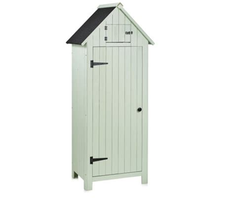 Sentry Shed by Sentry Wooden Garden Shed With 3 Interior Shelves Qvcuk