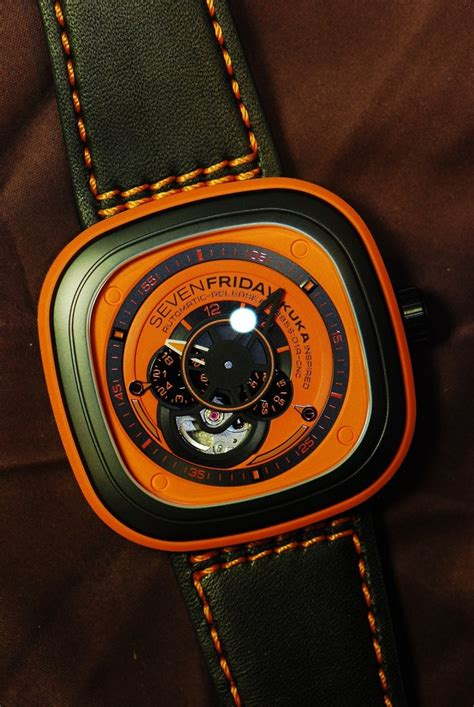 Sevenfriday V Series12961801 R Leather Black goldman luxury reliable preowned luxury dealer in singapore buy sell trade used watches
