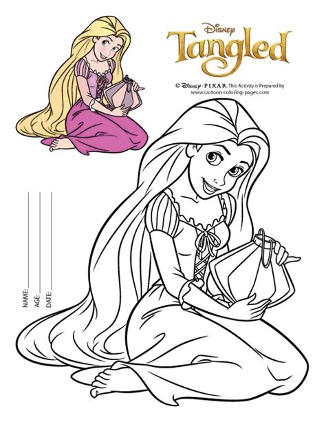 free printable coloring pages rapunzel free rapunzel coloring pages