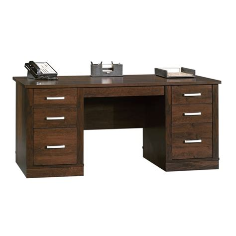 Sauder Office Port Executive Desk Sauder Office Port Executive Desk 408289 Sauder The Furniture Co
