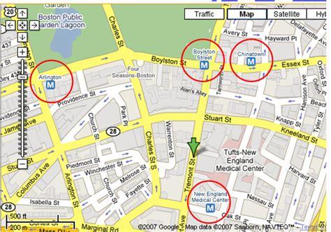 boston map with t stops maps boston t stations komarketing