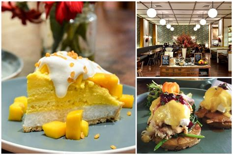 Mango Sticky Rice Di Jakarta benedict hearty all day breakfast and mango sticky rice tart at grand indonesia jakarta