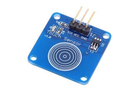 Sensor Sentuh Kapasitif Ttp223 Touch Sensor sensor touch capacitivo ttp223b filipeflop