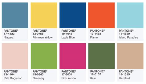 derosier my creative pantone s 2017 color report
