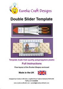 Slider Card Template by Eureka Craft Designs Templates