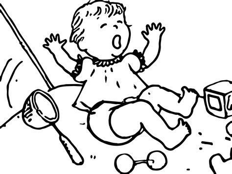 coloring page of crying baby amelia bedelia baby cry coloring page wecoloringpage