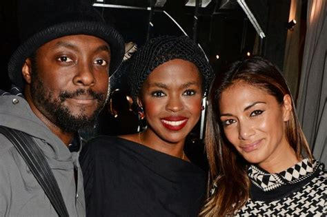 celeb sexystar look alike nicole scherzinger and will i am hang out with lauryn hill