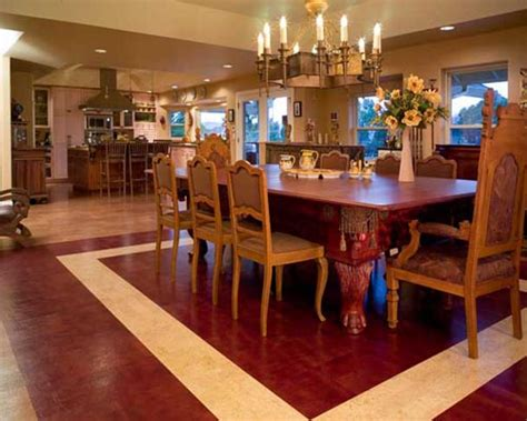 Kitchen Dining Room Flooring by Some Advantages And Disadvantages Installing Cork Kitchen Flooring Home Design Interiors