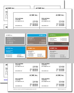 business card templates for word free download and