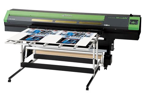 Printer Roland Uv Lej 640 hybrid uv led flatbed printer versauv lej 640 features