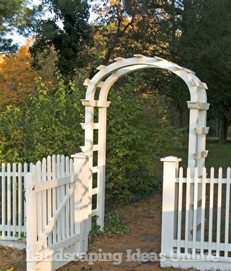 Garden Arch Next 42 Best Images About The Fence Along The On