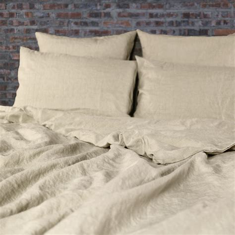 natural linen comforter washed linen duvet cover natural undyed comforter cover ebay