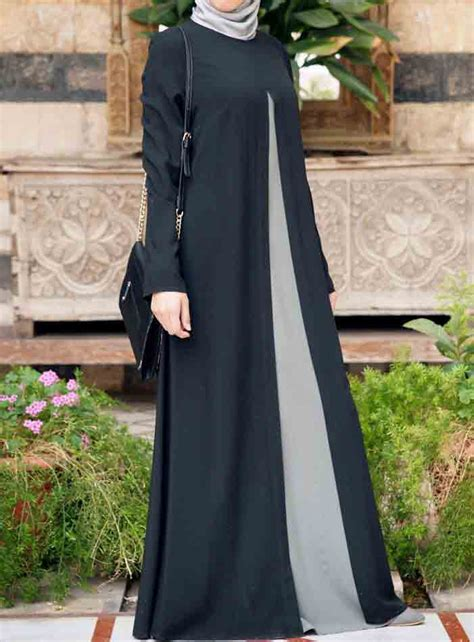 Turkey 40 Gamis Arab Baju Muslim by New Stylish Black Abaya Designs 2018 For Fashioneven